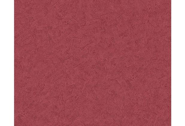 Livingwalls Uni , Strukturtapete Titanium Tapete Rot 10,05 M X 0,53 M