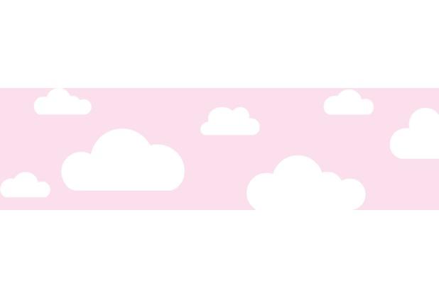 Lovely Label Selbstklebende Bordüre Wolken Rosa | Hertie.de