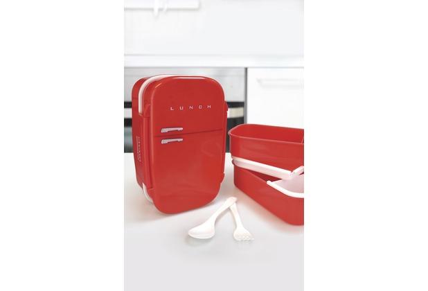 Kühlschrank Rot : Mags kühlschrank lunch box rot hertie.de