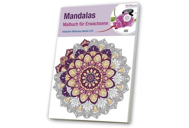 Malbuch für Erwachsene 3, Mandalas   Hertie.de