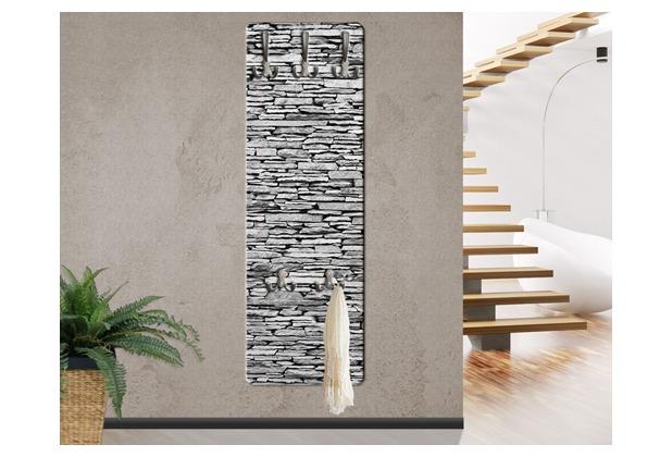Design Garderobe Mdf Holz Chinese Door ~ Apalis Design Garderobe MDF Holz Arizona Stonewall Steinwand 46x139cm