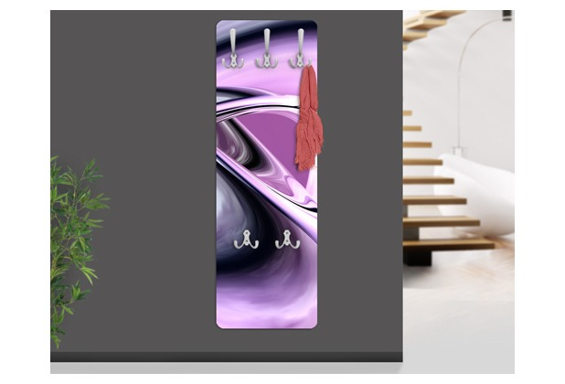 Design Garderobe Mdf Holz Chinese Door ~ Apalis Design Garderobe MDF Holz Drifting 3D 47x140cm  Hertie de