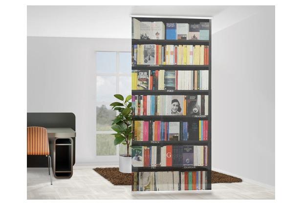 Apalis Design Raumteiler Book Lover Bucher 120x250cm Hertie De