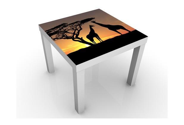 Apalis Design Tisch African Sunset 55x45x55cm