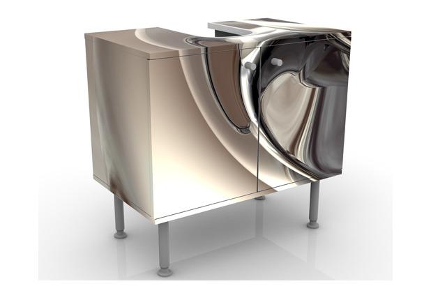 apalis design waschtisch glossy 60x55x35cm. Black Bedroom Furniture Sets. Home Design Ideas