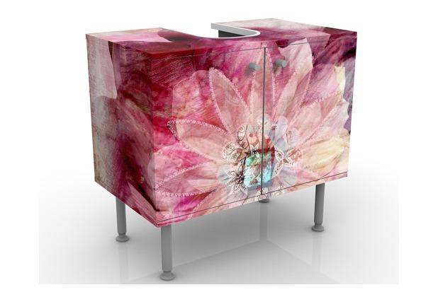 Apalis design waschtisch grunge flower for Waschbeckenunterschrank design