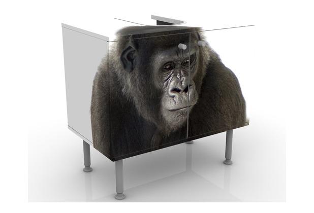 apalis design waschtisch liegender gorilla i 60x55x35cm. Black Bedroom Furniture Sets. Home Design Ideas