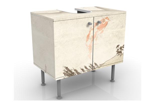 apalis design waschtisch no mw8 japanische stille 60x55x35cm. Black Bedroom Furniture Sets. Home Design Ideas