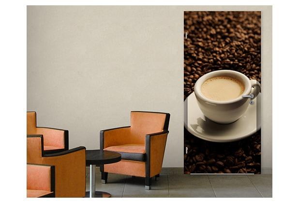wohnzimmer cappuccino : mantiburi Fototapete Tür Türtapete Espresso ...