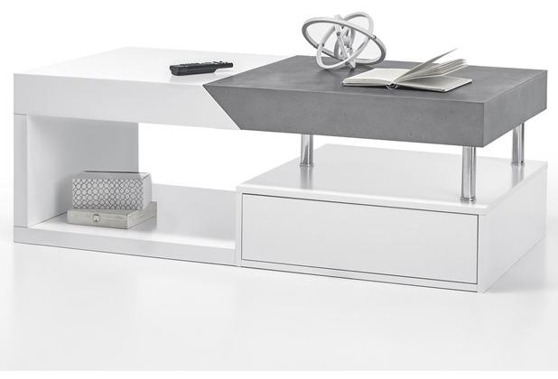 Mca Furniture Hope Couchtisch Mit Beton Dekor Hertiede