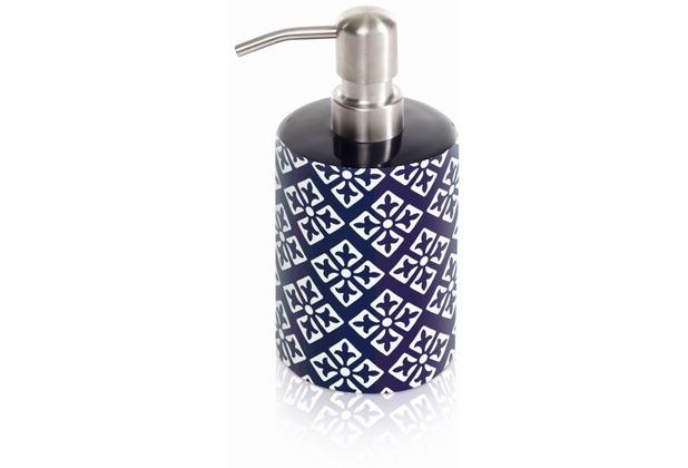 m ve seifenspender keramik capri blue. Black Bedroom Furniture Sets. Home Design Ideas