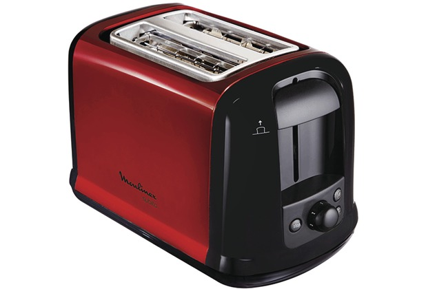 moulinex toaster lt261d subito rot metallic. Black Bedroom Furniture Sets. Home Design Ideas