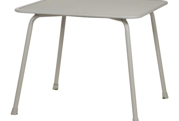Mwh Keido Tisch 90 X 90 Cm Grau Stahl Streckmetall Hertie De