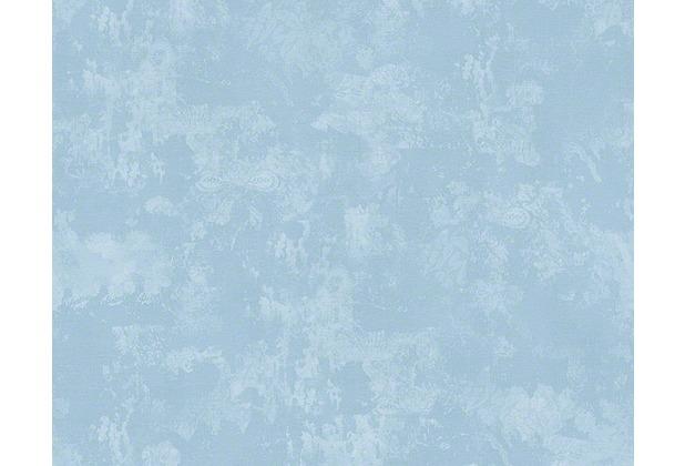 Naf naf mustertapete tapete vintage optik blau for Tapete muster blau