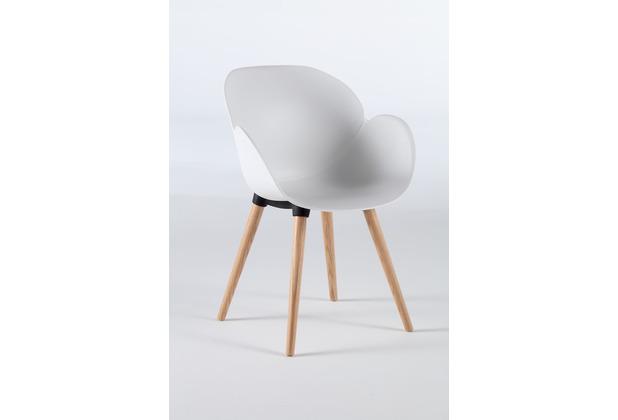 Niehoff Garden Stuhl SUSHI Sitzschale Kunststoff Weiss