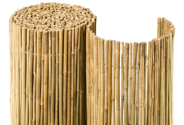 noor bambusmatte bahia bambus sichtschutz zaun balkon ca. Black Bedroom Furniture Sets. Home Design Ideas