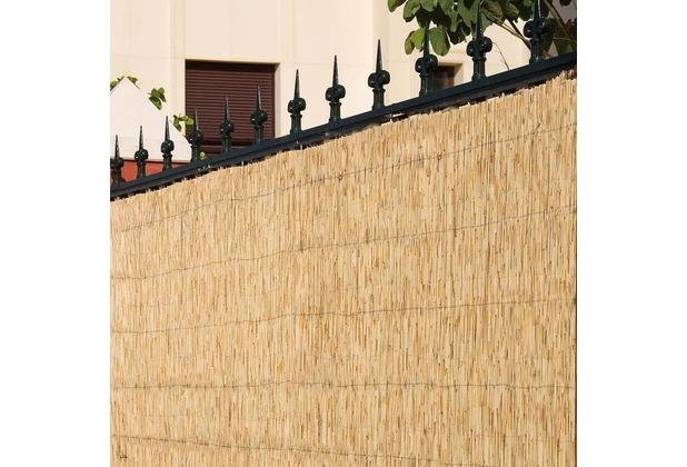 noor bambusmatte bambus sichtschutz zaun balkon bombay ca grosse hxb 1 00x3