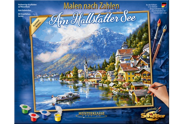 Schipper Malen Nach Zahlen Am Hallstätter See