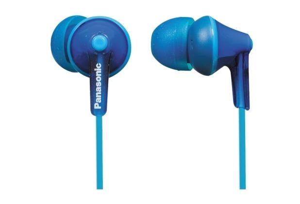 panasonic in ear stereo kopfh rer rp hje125 blau. Black Bedroom Furniture Sets. Home Design Ideas