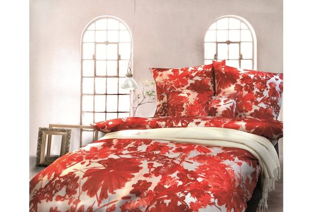 pfeiler mako satin bettw sche rot wei. Black Bedroom Furniture Sets. Home Design Ideas