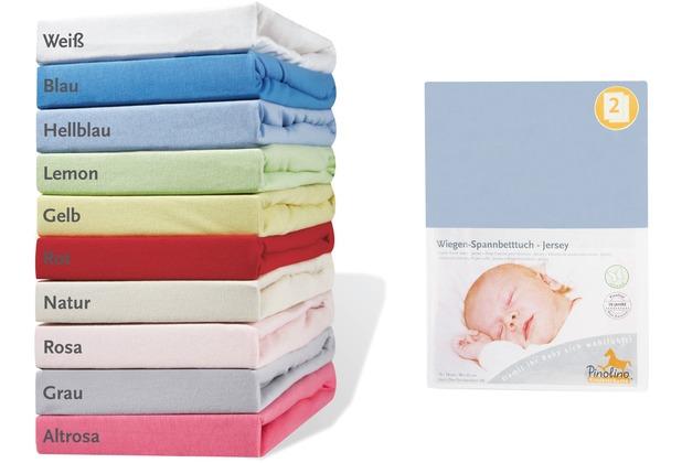 Pinolino spannbetttücher für wiegen anstellbettchen und kinderwagen