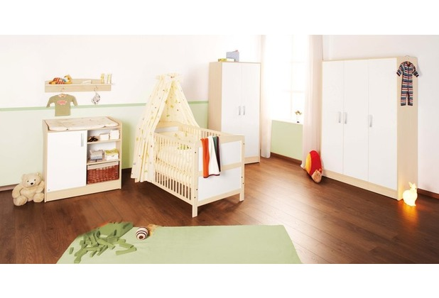 pinolino kinderzimmer florian 3 teilig mit gro em kleiderschrank. Black Bedroom Furniture Sets. Home Design Ideas