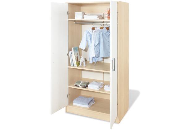 pinolino kleiderschrank 39 florian 39. Black Bedroom Furniture Sets. Home Design Ideas