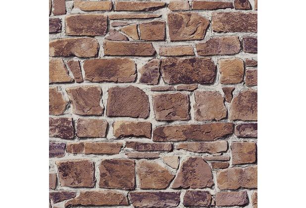 Rasch Tapete, braun, terrakotta 402612 | Hertie.de