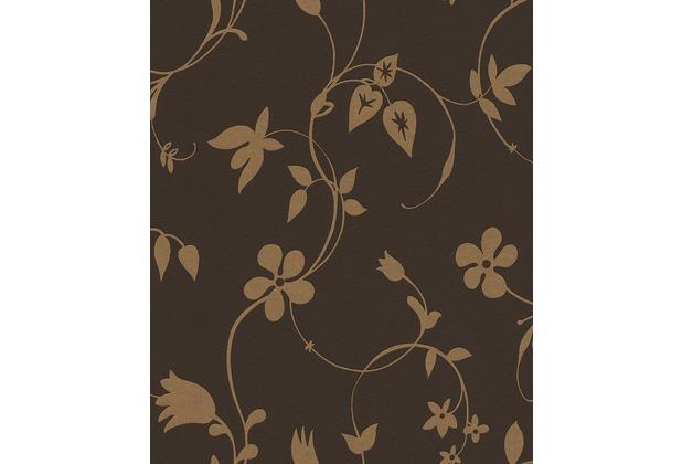 tapete braun gold m bel ideen innenarchitektur. Black Bedroom Furniture Sets. Home Design Ideas