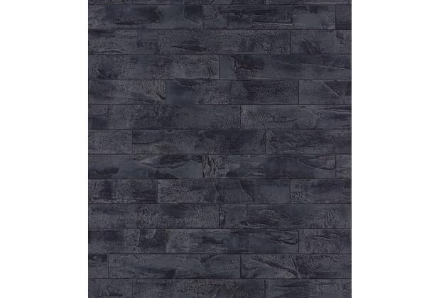 rasch tapete schwarz grau 408515