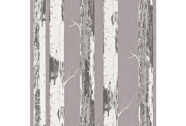 rasch vliestapete birke stamm 574562. Black Bedroom Furniture Sets. Home Design Ideas