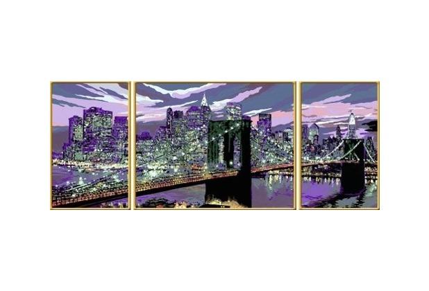 Ravensburger Malen Nach Zahlen Skyline Von New York Hertiede