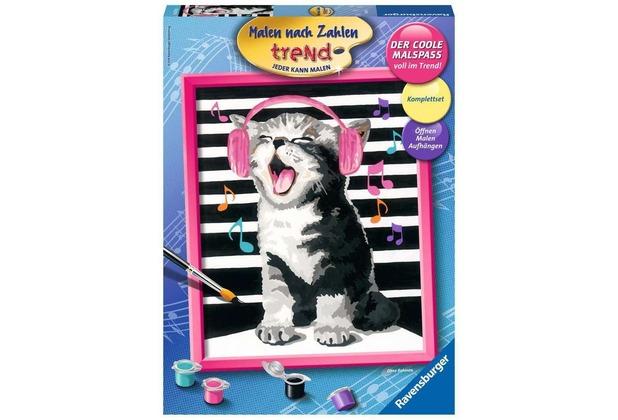 Ravensburger Malen Nach Zahlen Singing Cat