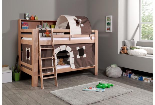 Etagenbett Hoch : Einhängeregal für hoch und etagenbett groß mit böden mod