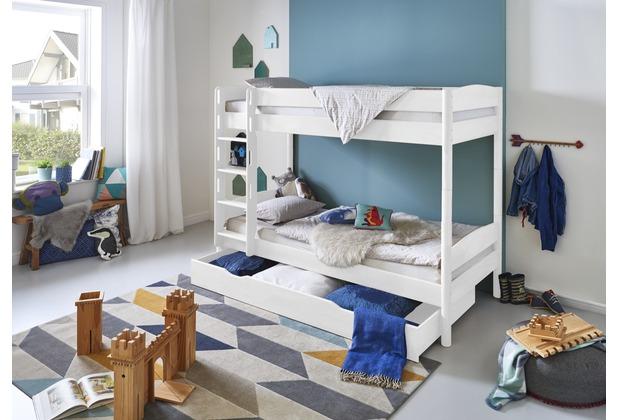 Relita Etagenbett : Relita etagenbett michelle buche weiß lackiert cm