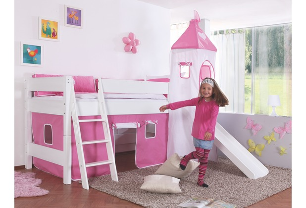 Kinderzimmer rutsche turm ideas about kinderbett mit for Kinderzimmer halbhochbett