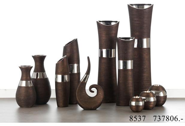Ritzenhoff Breker Bodenvase Keramik 16x11x60cm X Form Nairobi