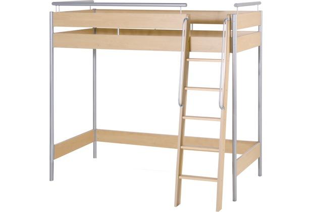 roba hochbett mit leiter. Black Bedroom Furniture Sets. Home Design Ideas