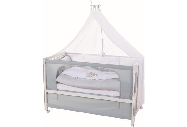 roba room bed heartbreaker wei lackiert. Black Bedroom Furniture Sets. Home Design Ideas