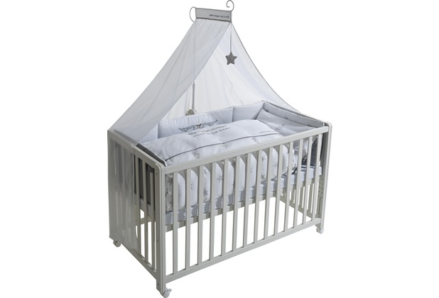 Roba Room Bed Rock Star Baby 2 Weiss Lackiert Hertie De