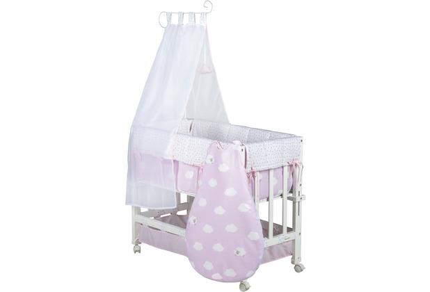 Roba stubenbett babysitter 3 in 1 kleine wolke rosa hertie.de