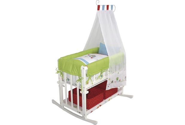 roba stubenbett 4in1 waldhochzeit wei lackiert. Black Bedroom Furniture Sets. Home Design Ideas