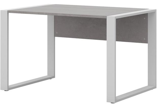 Favorit Röhr Schreibtisch Beton mit Kufenfuß mit integriertem SJ97