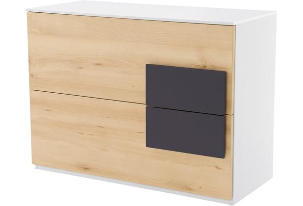 Rohr Sideboard Buche 100x74x46 Cm Applikation Anthrazit Hertie De