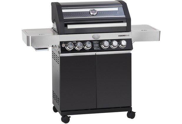 Enders Gasgrill Boston Black 4 Ik Test : RÖsle sonderedition 130 jahre rösle gasgrill bbq station videro g4 s