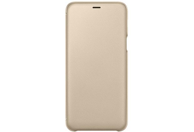 Samsung Wallet Cover Galaxy A6 Plus 2018 Gold Hertie De
