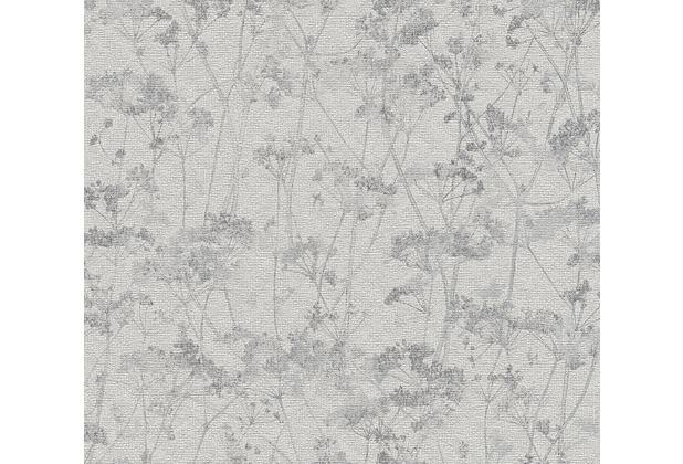 Schöner Wohnen Vliestapete Tapete Grau Schwarz Hertiede
