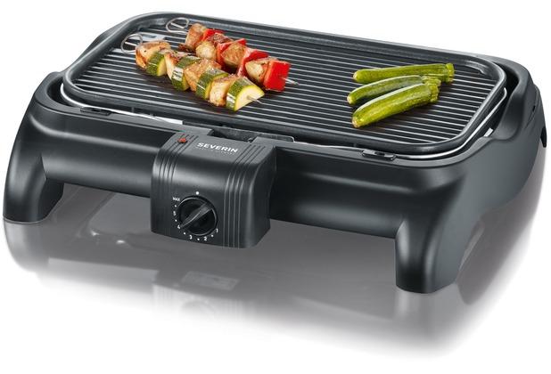 Severin Elektrogrill : Severin barbecue grill pg mit regler und gussplatte ca