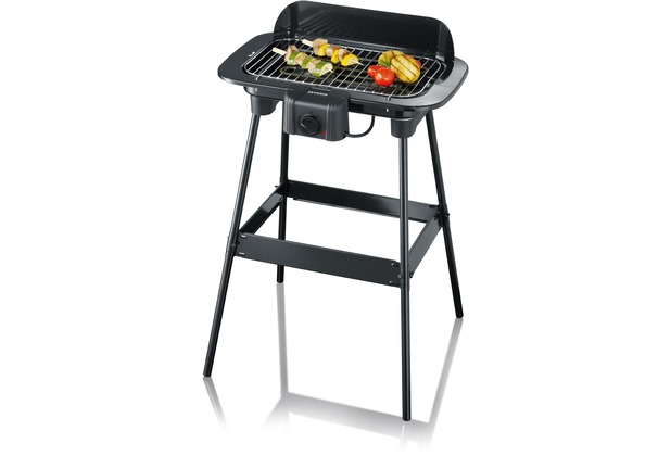 Severin Elektrogrill Stand : Severin pg stand barbecue grill m regler hertie