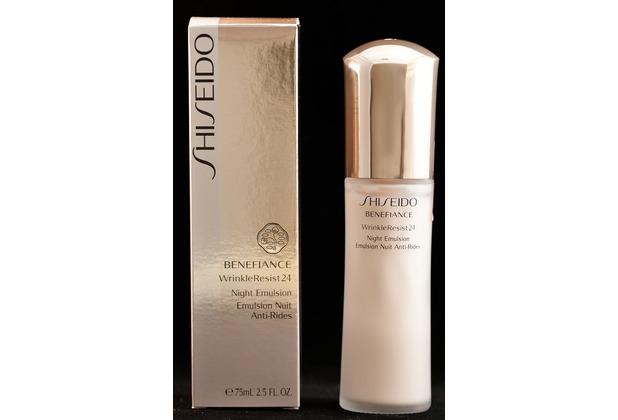 shiseido benefiance wrinkle resist 24 night emulsion 75 ml. Black Bedroom Furniture Sets. Home Design Ideas
